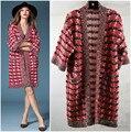 Designer de marca cc mulheres da manta de lã de malha cardigan poncho kimono Batwing manga cashmere shiner rosa oversize camisola casaco capa