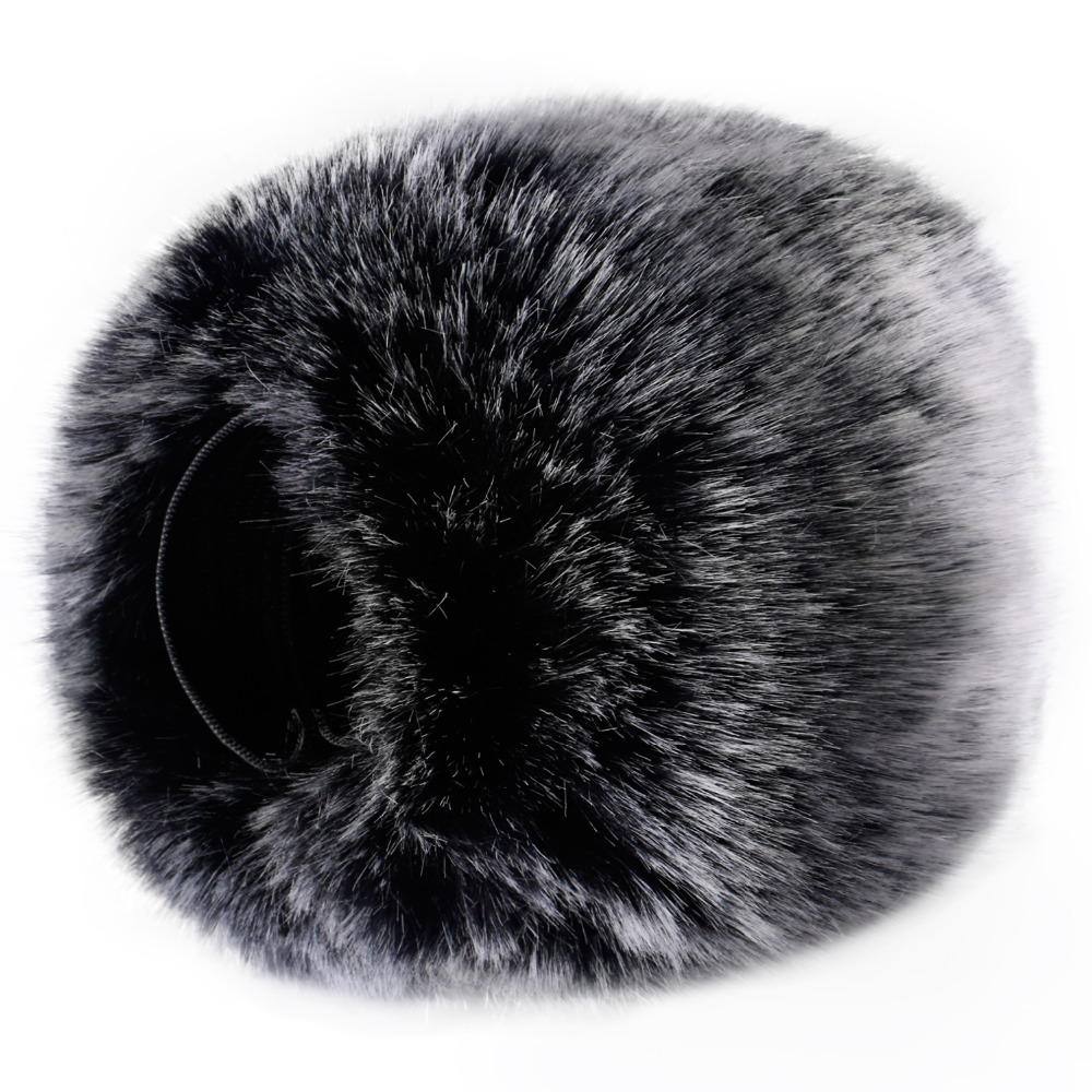 Neewer Outdoor Microphone Furry Windscreen Muff for Zoom H4n/H5/DR-05 Similar Portable Digital Recorders ulanzi outdoor dusty mic furry cover windscreen windshield muff for zoom h1 microphone profession microphone accessoriessories