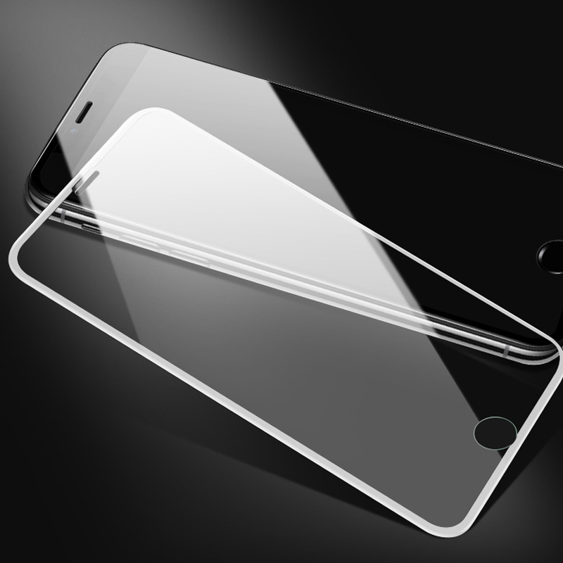 Image 3 - 7D protective Glass For iPhone 6 7 8 6S Plus X XS MAX XR glass iphone 7 8 x 6 XS screen protector tempered glass on iphone 7 8-in Phone Screen Protectors from Cellphones & Telecommunications