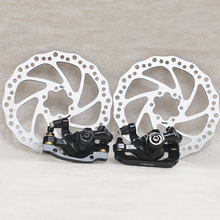 Radius MTB disc brake sets mechanical Calipers bicycle accessories rotor 160mm bike mountain parts avid bb7 mtb mountain bike mechanical disc brakes calipers bicycle parts 1 pair 2pcs free shipping