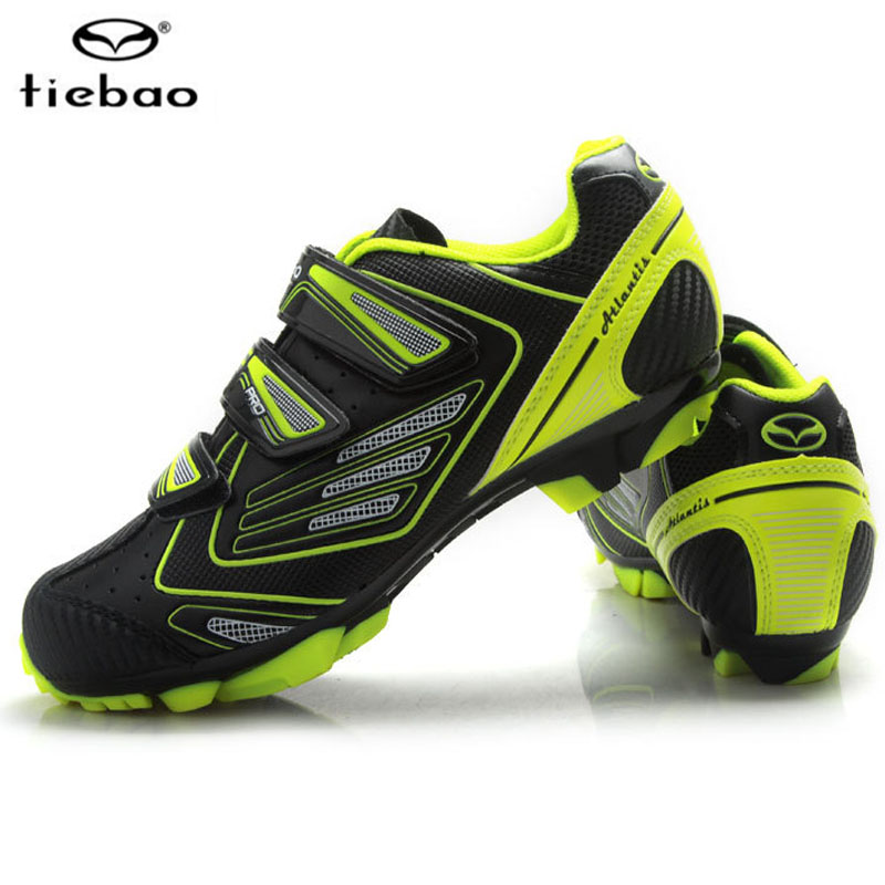 Tiebao Professional Bicycle Cycling Shoes Mountains BIke Knob Racing Athletic Shoes Breathable MTB Self-locking Shoe tiebao professional fg