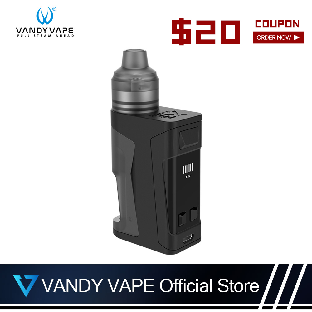 Vandyvape Simple EX Kit E Cigarette With BOX Mod And RDA