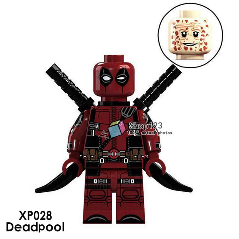 Deadpool Marvel Super Heroes Gwen-Pool Building Blocks Deadpool Sets Bricks Educational Toys for Children Gift
