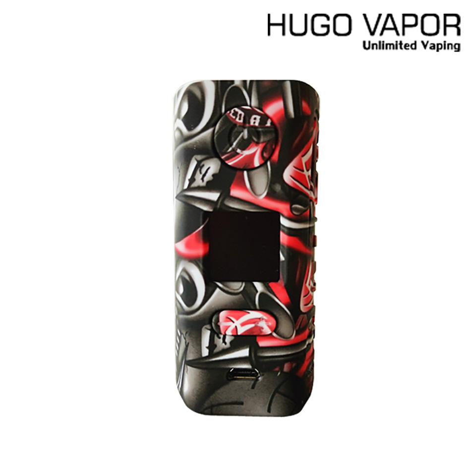 Original Hugo Vapor Rader ECO 200W Mod Support dual 18650 Battery VS Tesla WYE 3