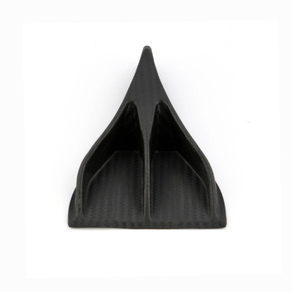 1pcs Vehemo EVO Style Carbon Fiber Car Roof Eagle Claw Shark Fins Tails Eagle Claw Shape Shark Fin Diffuser Stickers RS LKT024 in Car Stickers from Automobiles Motorcycles