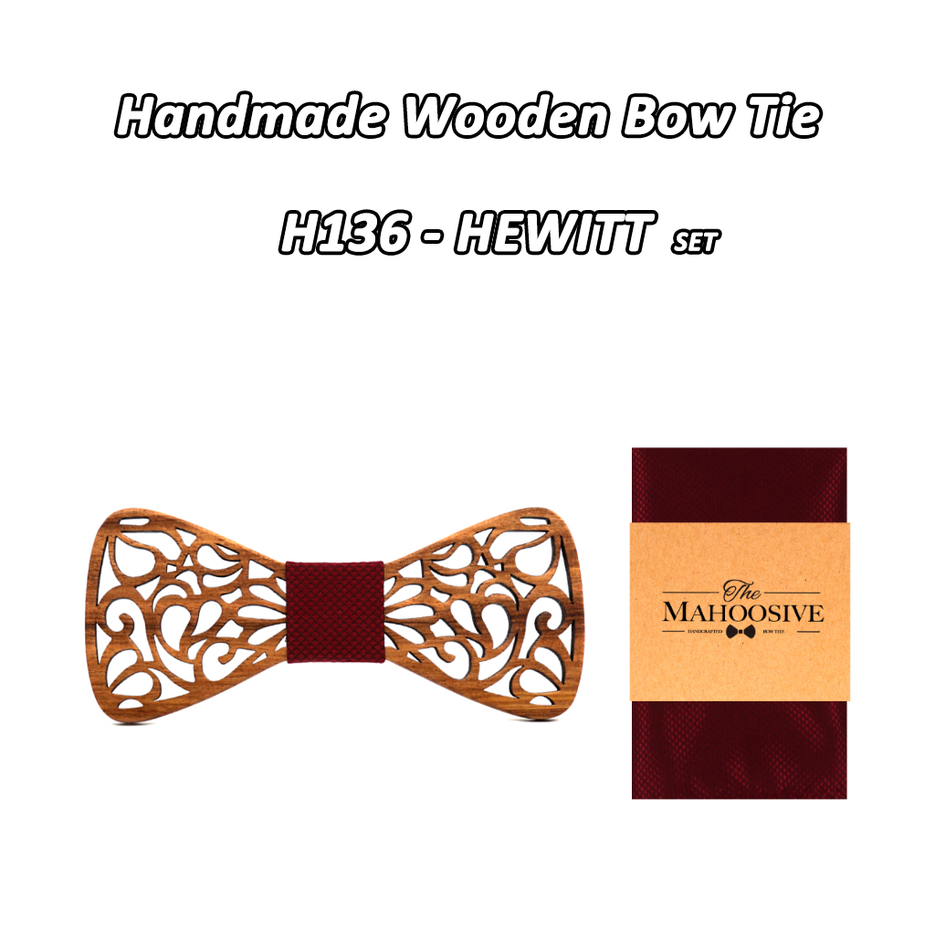 Mahoosive New Floral Wooden Bow Ties for Males Bowtie Hole Butterflies Marriage ceremony go well with picket bowtie Shirt krawatte Bowknots Slim tie HTB1DbLVg7UmBKNjSZFOq6yb2XXaD