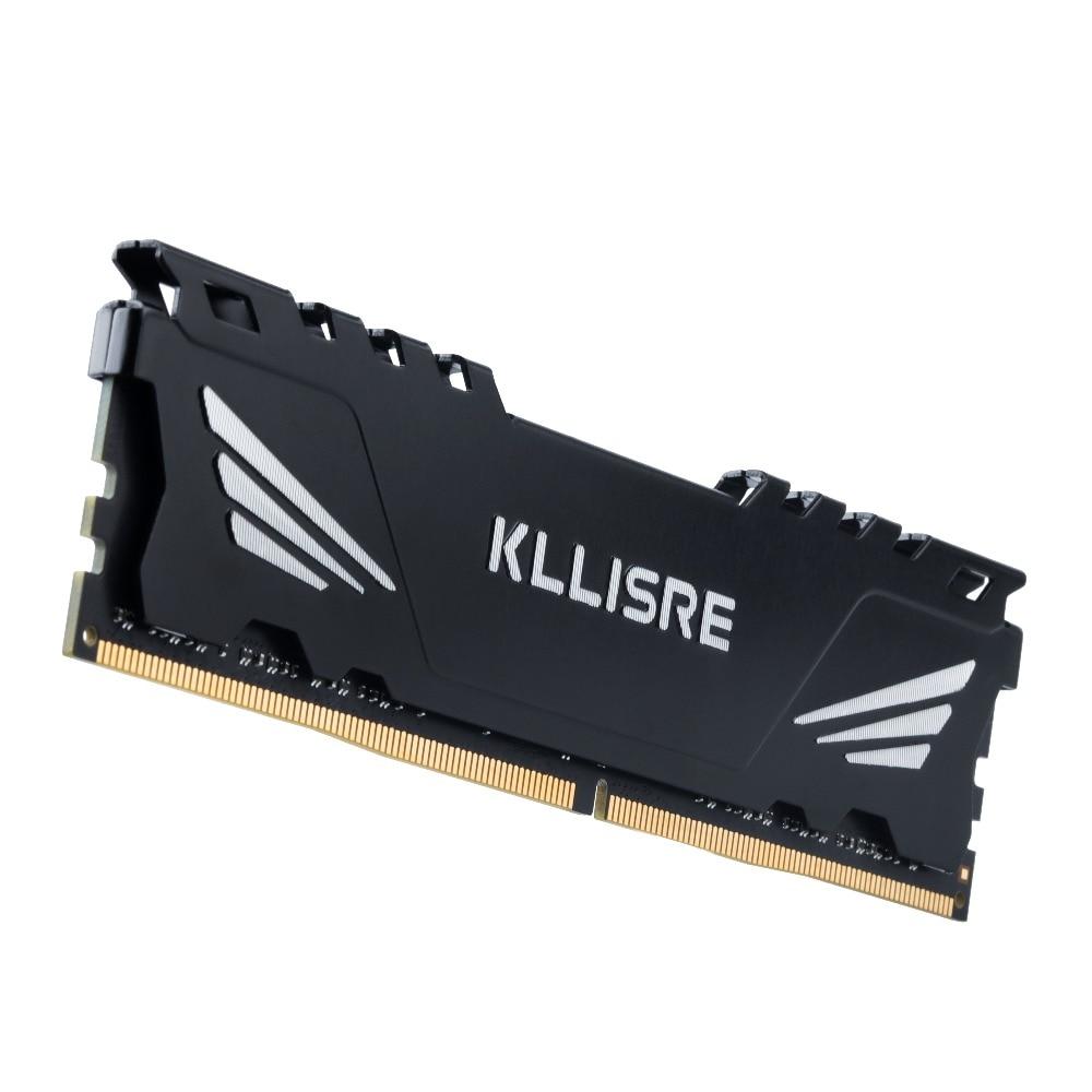 Kllisre DDR3 DDR4 4GB 8GB 16GB 1866 1600 2400 2666 3200 Desktop Memory with Heat Sink DDR 3 ram pc dimm for all motherboards 4