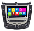 "Wholesales  8"" Car DVD Player GPS Navigation System for Honda Accord 07 7 Support original on-dashboard computer RDS Radio"
