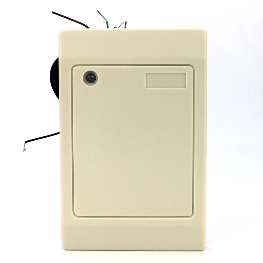 Weigand26/WG26 ID+IC Reader 2-in-1 125khz+13.56mhz Composite RFID Reader For Access Control 13 56mhz waterproof wg26 rfid ic reader for access control
