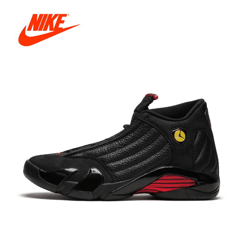 Asli Baru Kedatangan Otentik Nike Air Jordan 14 Retro Sepatu Basket Olahraga  Outdoor Sepatu Berkualitas Baik 1fe959a5a6