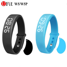 W2 UFit FitnessTracker Pedômetro e Real-tempo de Exibição da Temperatura À Prova D' Água Esportes Pulseira Pulseira Apoio Monitor de Sono