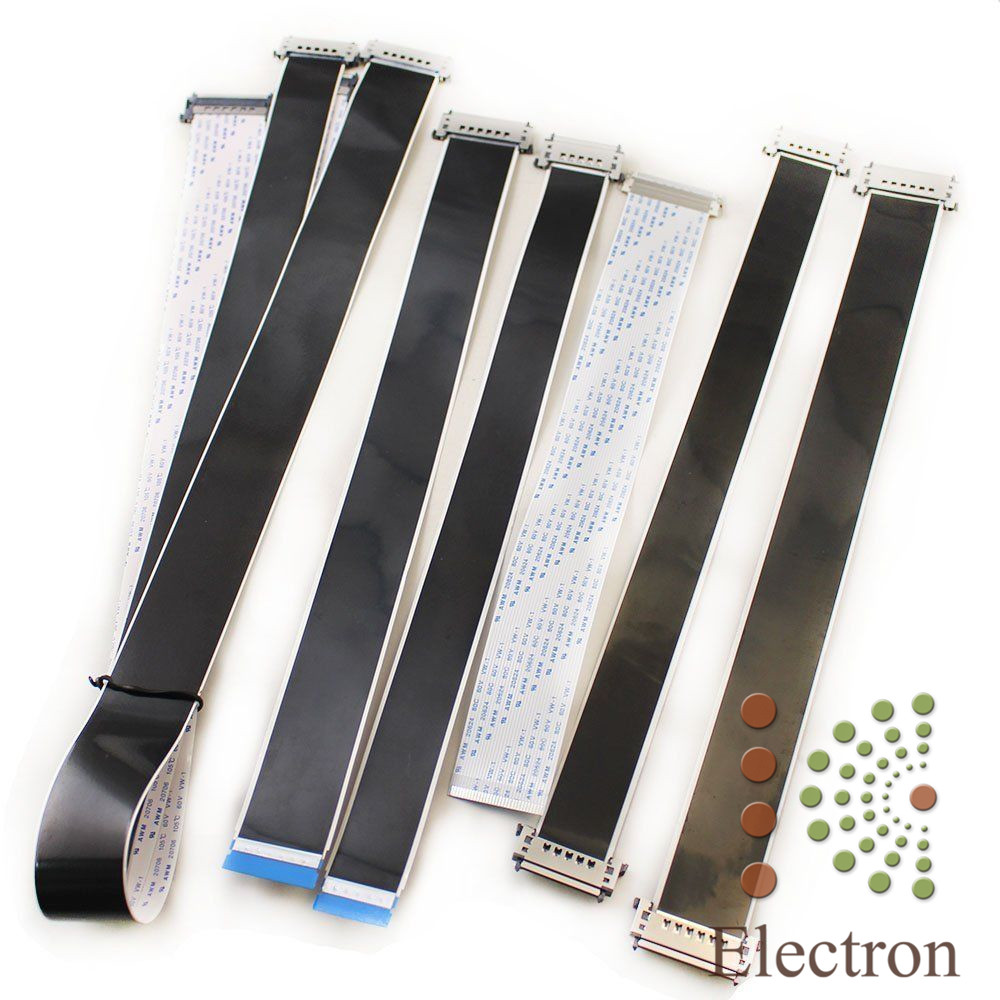 7pcs 4K HD Panel Common Universal FFC Cable For Backlight TV Monitor Screen 51pin 41pin 30pin High Quality