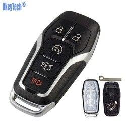 OkeyTech nowy 3 przyciski wymiana zdalnego samochodu przypadku klucz do Fob dla Ford Mondeo krawędzi S-Max Galaxy 2014 -2018 z Uncut Blade