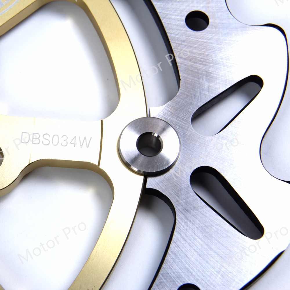 Para kawasaki versys 1000 2012 2013 2014 frente disco de freio traseiro rotor kit acessórios da motocicleta z750r z750 750r z1000sx