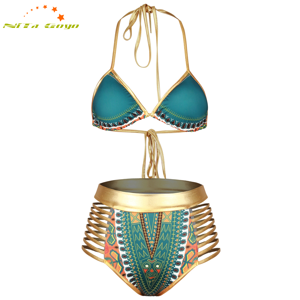 Sexy printed patchwork two pieces low waist beachwear swiming suits bathing sets sexy women bikini suit