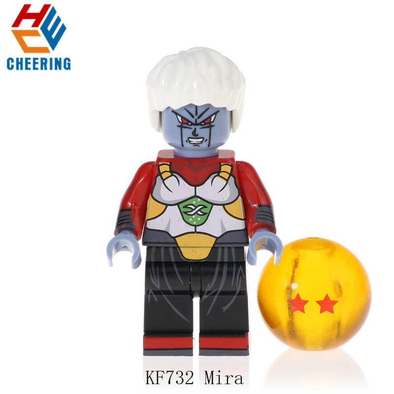KF732 Enkele Verkoop Serie Dragon Ball Bricks Gogeta Zoon Goku Vegeta Vegetto Zoon Gohan Bouwstenen Voor Kinderen Speelgoed Gift