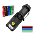 Portable Mini Outdoor Survival Emergency LED Flashlight 3 Patterns For Torch,Lantern,Self defense,Camping light, Lamp,Bicycle