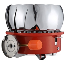Outdoor Portable Foldable Snap-type Lotus Burner Camping Gas Stove Mini  Naturehike Gear Accessories