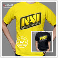 Steelseries NAVI Natus Vincere gaming NAVI t shirt GAME team suit uniform Team tees cotton short sleeve Game Dota2 t-shirt WCST