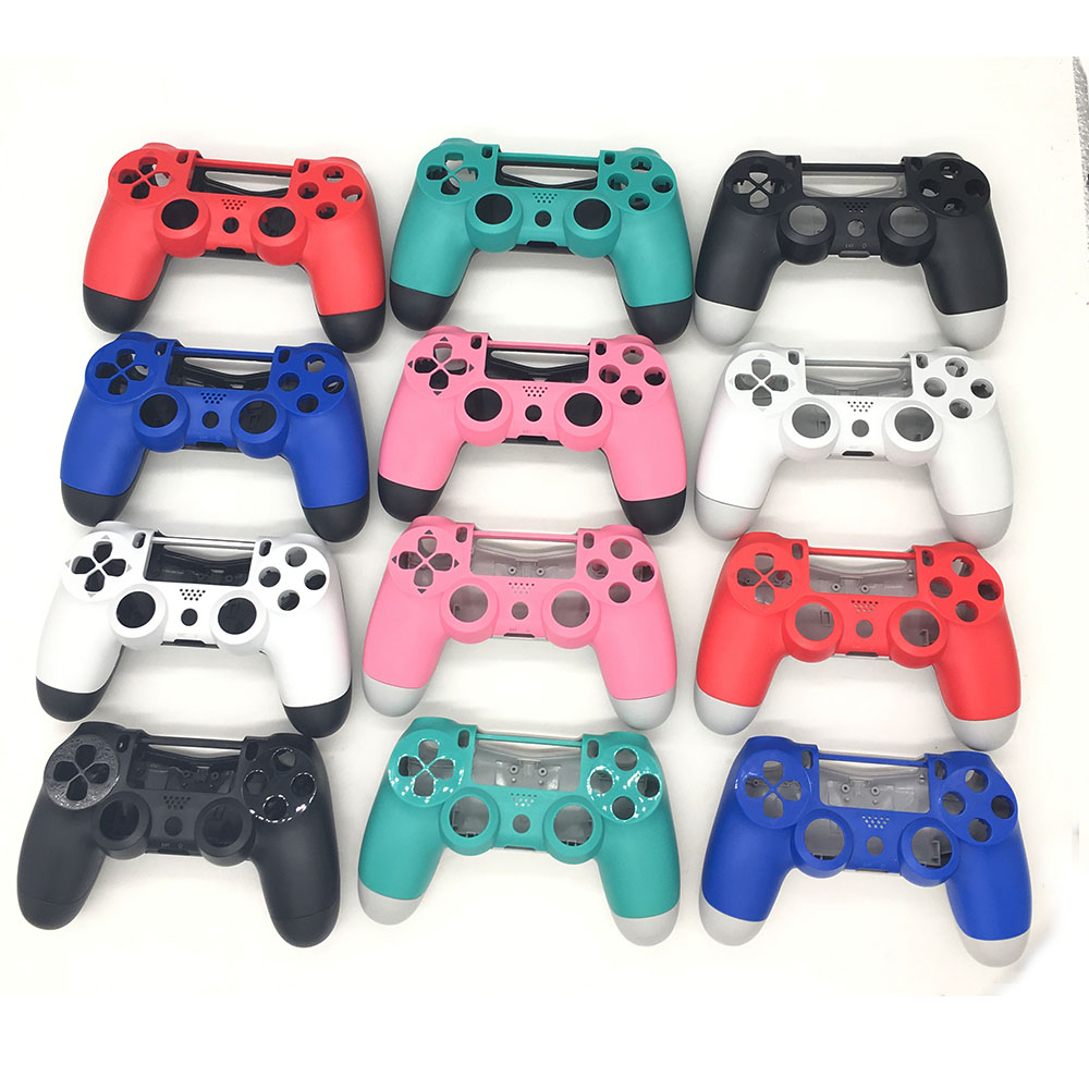 10SETS Colorful Matte US Euro Version Housing Shell for Playstation 4 PS4 Controller Front Back Shell