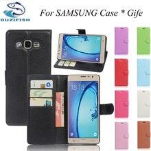 Роскошные Case Для Samsung Galaxy J1 J2 J3 J5 J7 2016 МИНИ ACE PRO J105 J120 J510 J710 Премьер Стенд Бумажник PU Кожаный Откидная Крышка Сумка