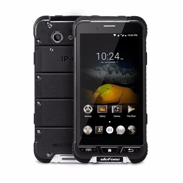 Ulefone Armor Waterproof Ip68 Rugged Phone MTK6753 3+32g Android 6.0 13MP OTA 4G 1280x720 4.7 Inch HD Mobile Phone