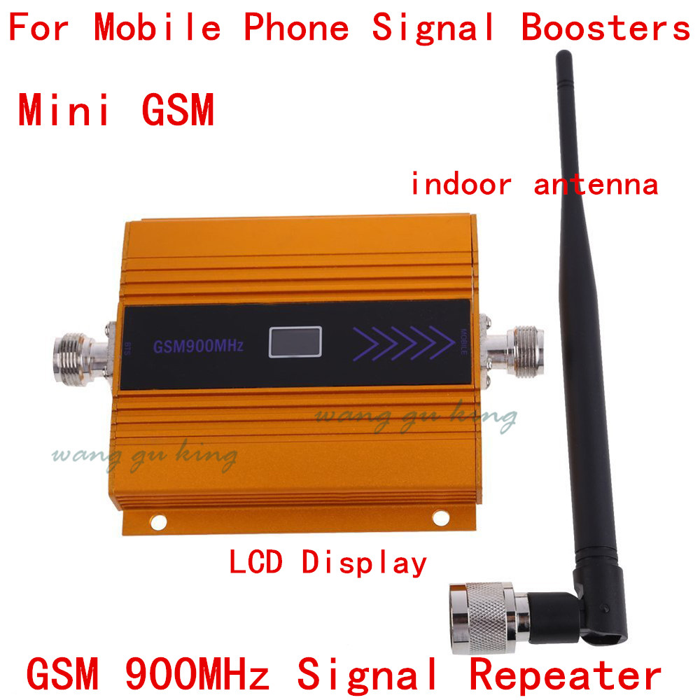 Indoor Antenna+Mini GSM Signal Booster LCD Display ! Gsm 900mhz Mobile GSM Signal Repeater , Cell Phone GSM Signal Amplifier