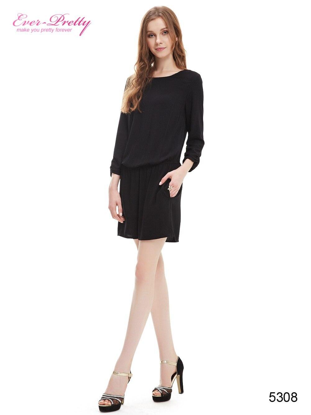 [Clearance Sale] Summer Style Vestidos Cocktail Dress Black Siamesed Dresses Women ...