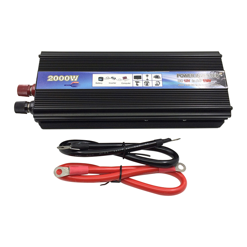 2000W 12V 220V Car Inverter 24V 110V Car Power Inverter Converter inversor 2000W Universal Socket Power Inverter Transformer