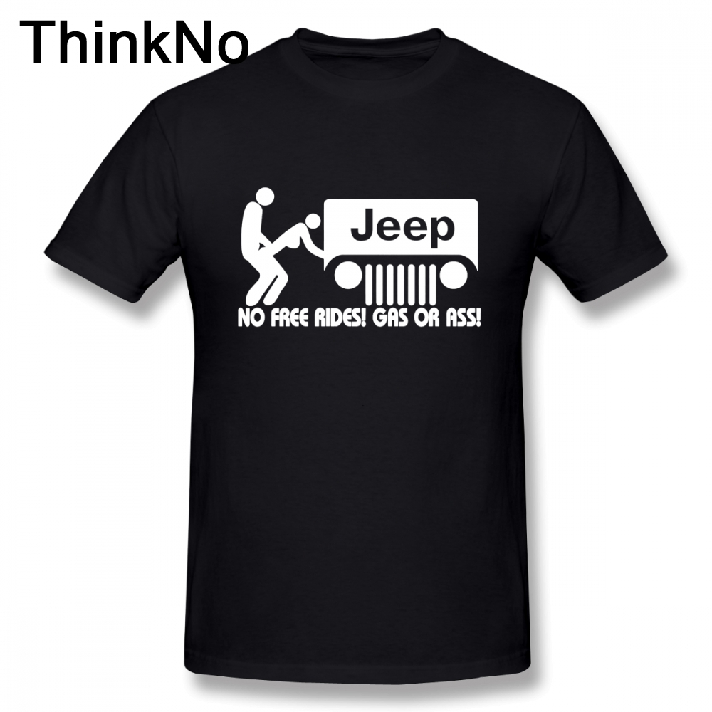 For Men Jeep Car T Shirt Round Neck Casual Tee Shirt 3D Print T-Shirt Hot Sale THINKNO T Shirt