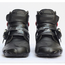 2014 Hot Bike Motorcycle Racing Boots Short Shock-absorbing Resistant Size Us 7-12 [PB55-PB60]