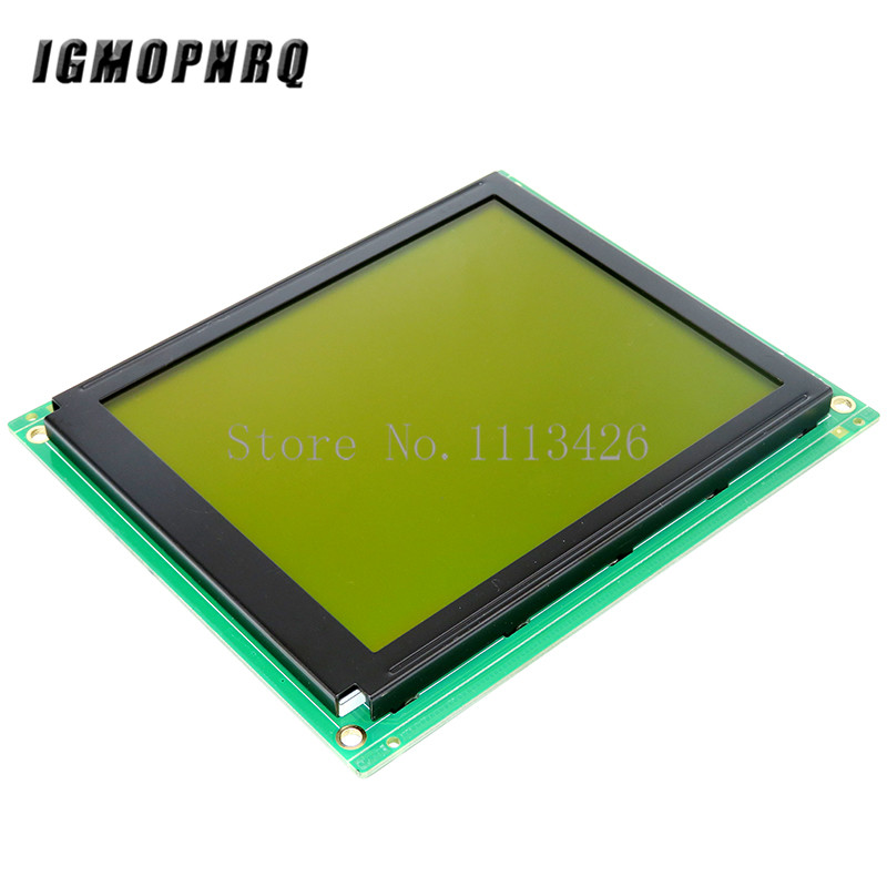 160x128 Dots Matrix Lcd Module Display With LED Backlight 160128 Stn Display 160*128 8080 Parallel Port Blue/Yellow Green
