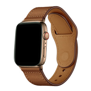 Image 3 - Retro leather band watches men Genuine For Apple Watch Band 44mm 40mm For Apple WatchBands 42mm 38mm Series 4 3 2 1 Watch Strap