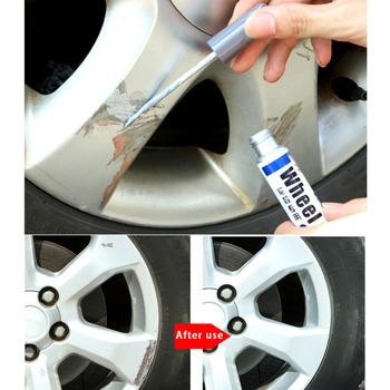 Rozliczania samochodów Scratch naprawy długopis ze stopu aluminium koła opony farby koła pióra profesjonalna pielęgnacja samochodu malarstwo długopisy tanie i dobre opinie As shown External Material Plastic 11 4cm 1 8cm wupp 0inch Clearing Scratch