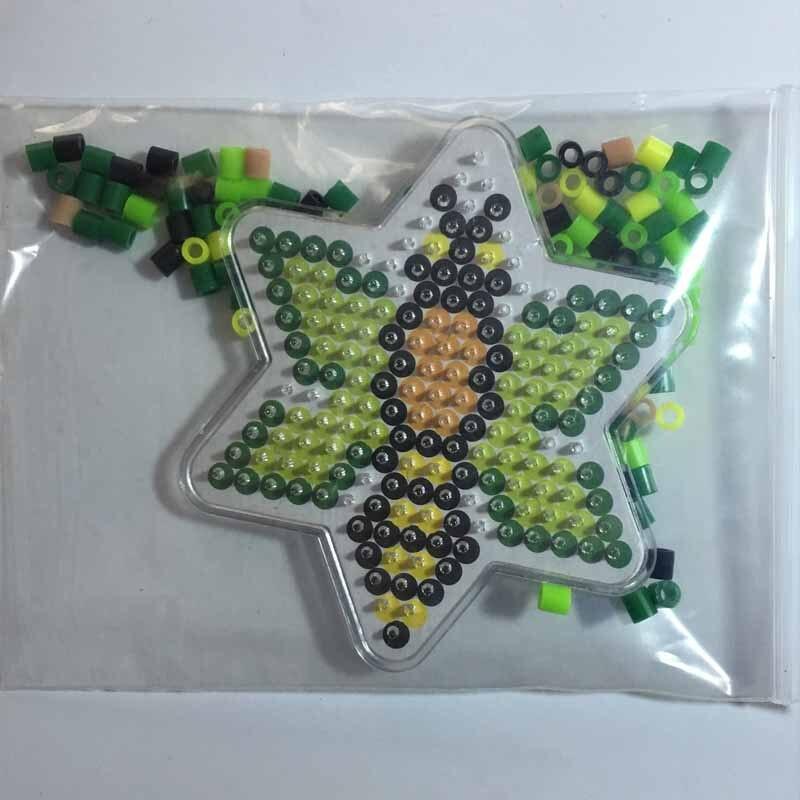 4 kom Puzzle Pegboards Uzorci s obojenim papirom Za 5mm Hama Perler - Igre i zagonetke - Foto 6