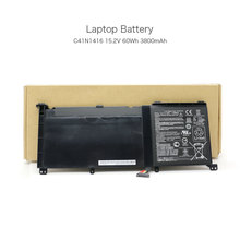 15.2V 60Wh 3800mAh C41N1416 Unique Pill Battery for Asus ZenBook Professional UX501L ZenBook Professional UX501J ZenBook Professional UX501JW Laptop computer