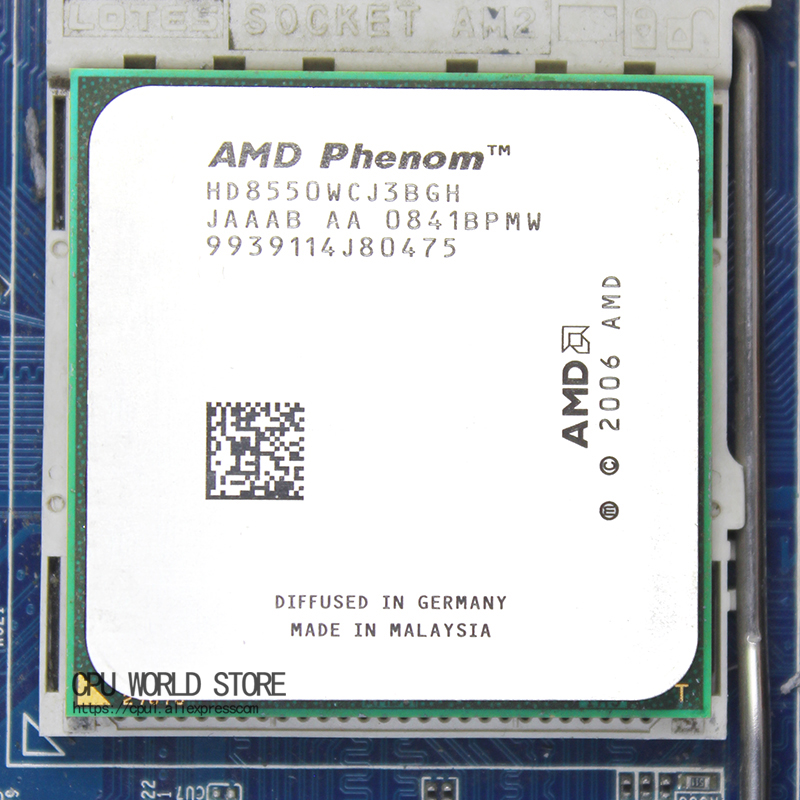 AMD Phenom X3 8550 Triple Core CPU PROCESSOR 2.2Ghz HD8550WCJ3BGH SOCKET AM2+