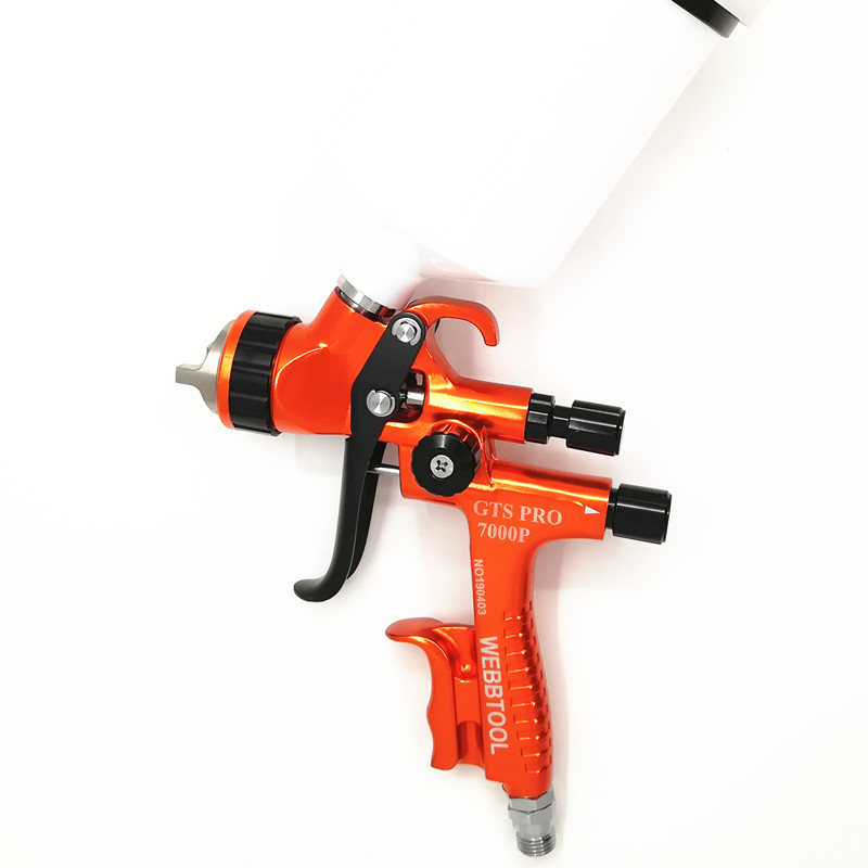 1 3mm LVLP GTS PRO 7000P professional automotive high atomization spray paint gun water paint spray