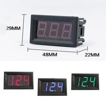 1pcs High Quality 0.56 inch LED DC 4.50V-30.0V Digital Voltmeter Home Use Voltage Display 2 Wires Red And Black