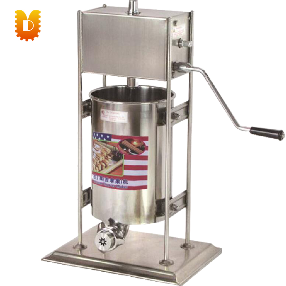 hot sell 12L Spain churros making machine/5 moulds churros machine 12l electric automatic spain churros machine fried bread stick making machines spanish snacks latin fruit maker