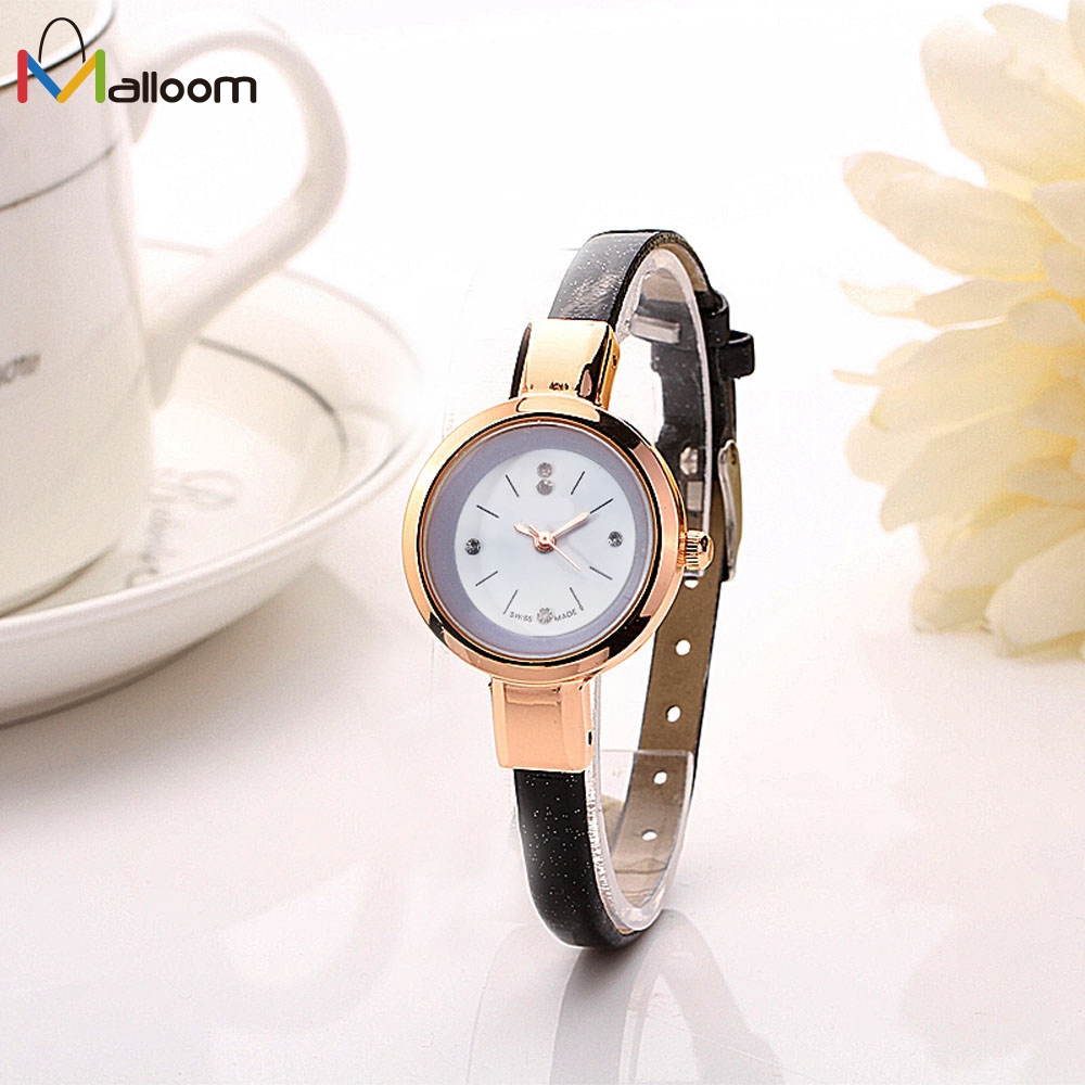 Buy watch relogio feminino women watches reloj mujer 2017 luxury brand gold for Watches brands for girl