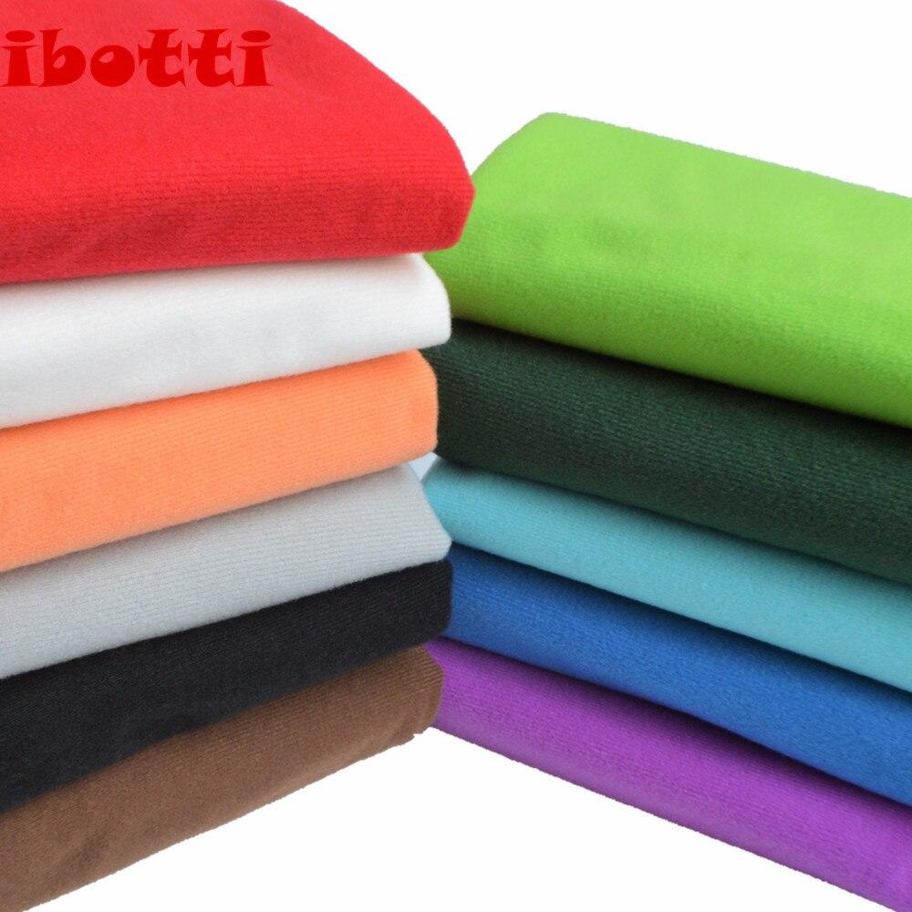 50*150cm Carne Colorido Diy Boneca Tecido de Alta-densidade Da Pele Cochilo Telas Tissus Algodão Patchwork Costura Têxtil artesanal de Costura
