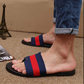 2016 new summer sandals flip-flops han edition men a word procrastinates tide shoes beach personality to Rome slippers