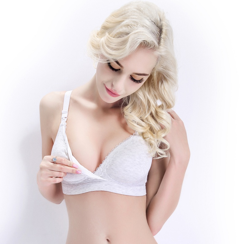 63c81a9895d 2018 Cotton Breast Feeding Bras Big Size Cup Maternity nursing bra Women  Underwear Nursing Maternity Bra Wire Women -in Bras from Underwear    Sleepwears on ...