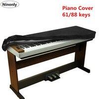 伸縮性 88 キー電子ピアノ防塵肥厚ピアノキーボードダストクリーニングシート 61 鍵ピアノキーボードダストカバー
