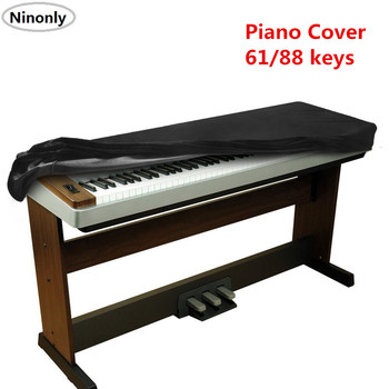 Stretchable 88-key Electronic Piano Dustproof Thickened Piano Keyboard Dust Cleaning Sheet 61 Keys Piano Keyboard Dust Cover powerful professional protable luxury 61 76 key keyboard electronic organ bag piano backpack soft gig package case cover