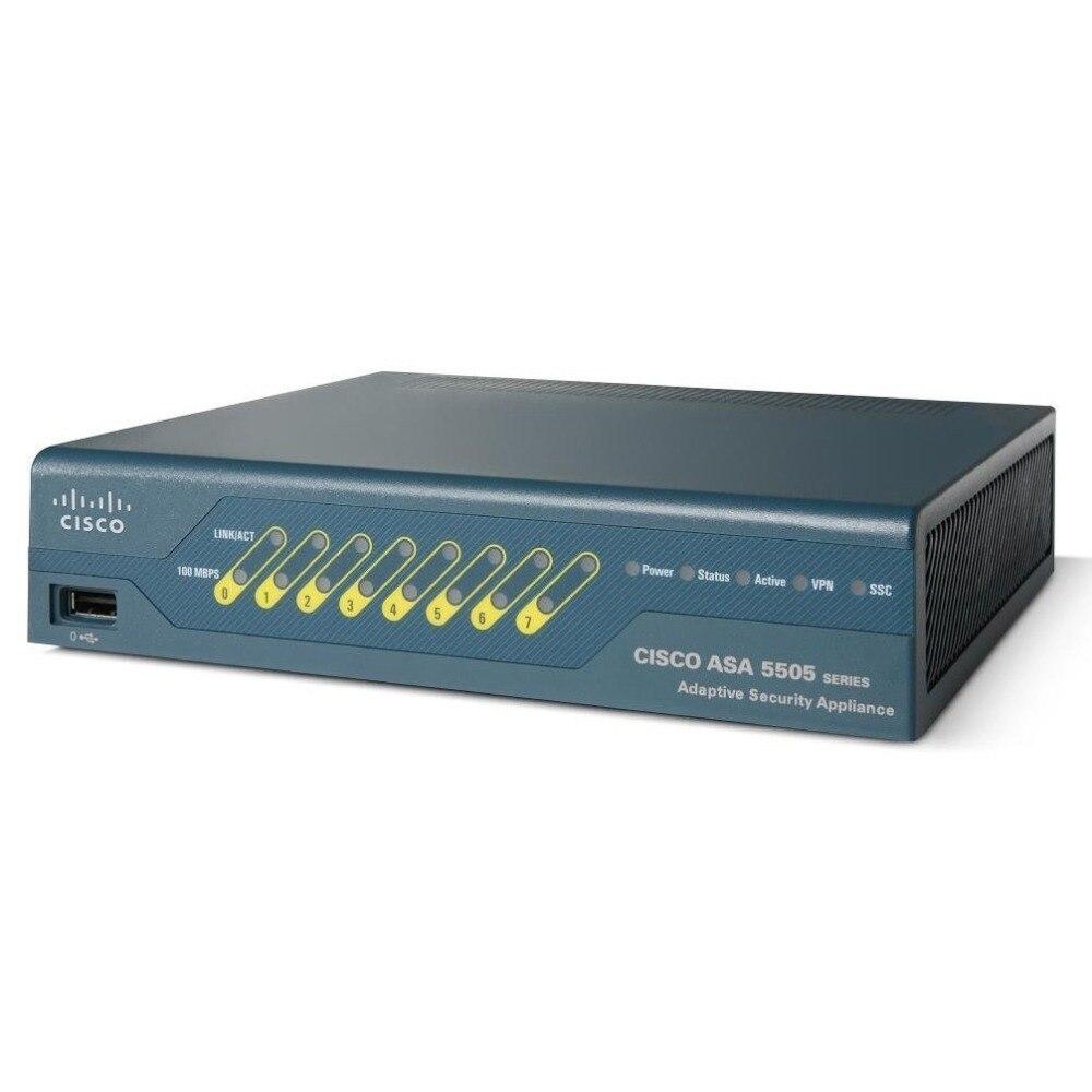 Original USED ASA5505-50-BUN-K9 Asa5505 Security Appliance