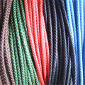6mm Round Bolo Braided Real Leather Cord For Jewelry Beading Craft Sell By Yard Fine Jewelry