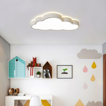 LED Ceiling Light Modern Cloud 48W/64W Remote Control Dimmable Kids Lamp Fixture Bedroom Decor Lighting