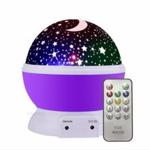 Creative Stars Starry Sky LED Night Light Projector Moon Lamp Battery USB Kids Gifts Children Bedroom Lamp Projection Lamp цены